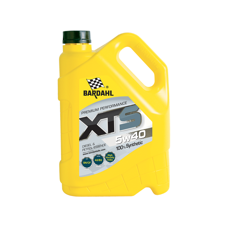 Bardahl XTS 5W40 5L Engine Oil